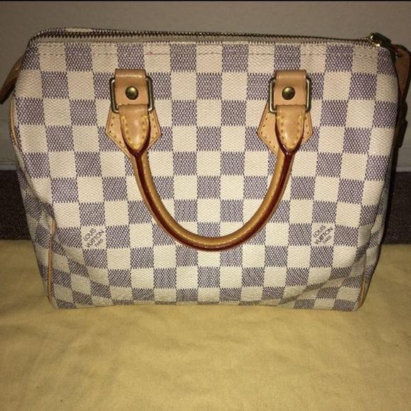 539f1329a26e Louis Vuitton Handbags - Louis Vuitton Speedy 25 Damier Azur